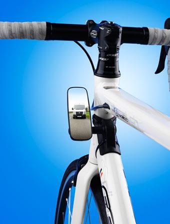Sprintech Dropbar Bicycle Mirror Lights Reflectors
